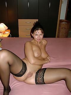 Moms Stockings Pics